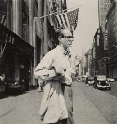 Молодой Энди Уорхол 1950-е