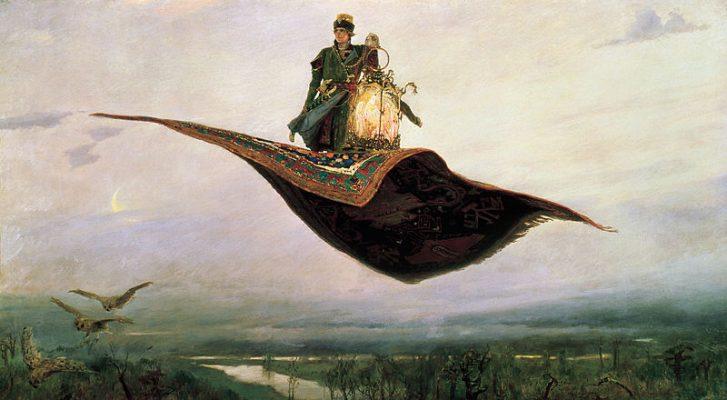 Виктор Васнецов. Ковер-самолет. Выставки 2020