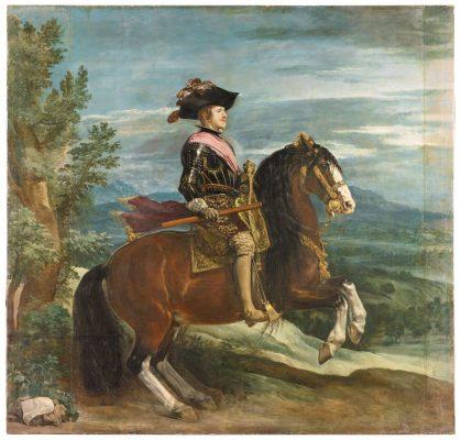 Диего Веласкес. Портрет короля Филиппа IV. 1635-36.