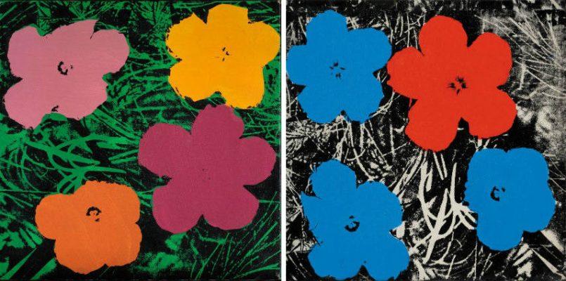Elaine Sturtevant – Warhol Flowers, 1969-70 Женщины-художники
