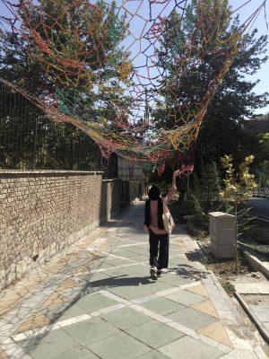 Инсталляция в парке Саей, Тегеран