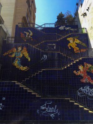 Граффити на улице Таванир, Тегеран