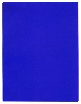 Ив Кляйн, Синий монохромный, 1960