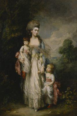 Томас Гейнсборо. Миссис Элизабет Муди с сыновьями.
