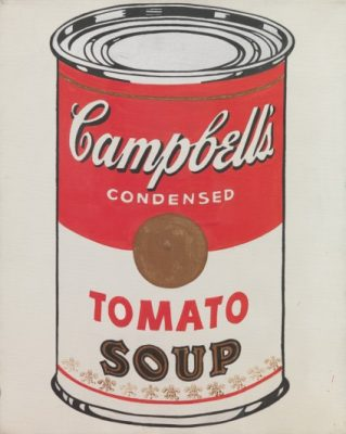 банки  с супом Кэмпбелл