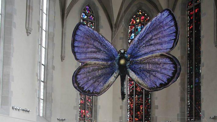 Инсталляция «Вечный сад» в церкви Вассеркирхе