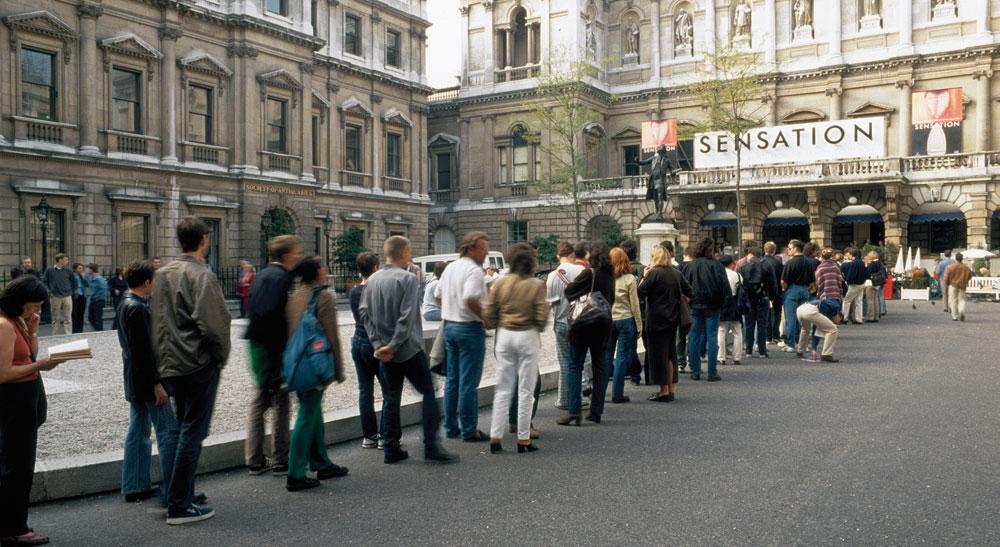 британское искусство. 1980
