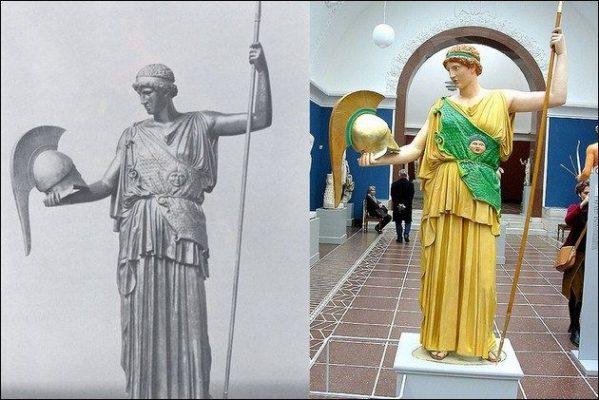 Древнегреческие статуи