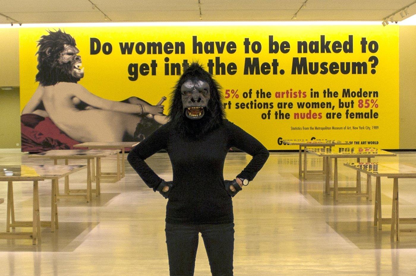 женщины-художницы Кате Кольвиц, член-основатель феминистского художественного коллектива The Guerilla Girls
