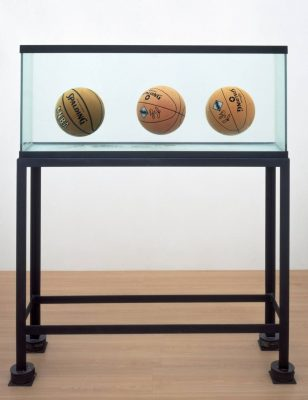 Jeff Koons Three Ball Total Equilibrium Tank  1985