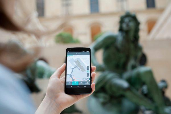 Мобильное приложение Лувра