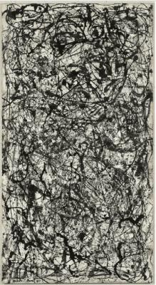 Джексон Поллок, номер 26 А, черно-белый , 1948 г.