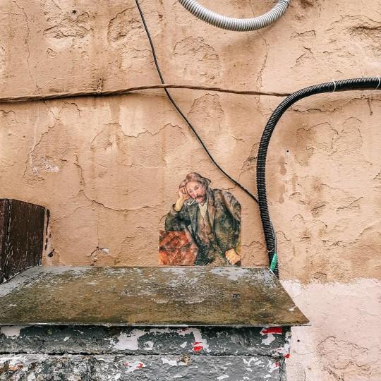 "Ульяна Полоз Outingsprojectspb  2019 г.  П.Гоген ""Курильщик трубки"""