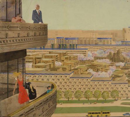 Калькауз. Проект по созданию микрорайона в Ташкенте 1978 г. Архитектура советского модернизма