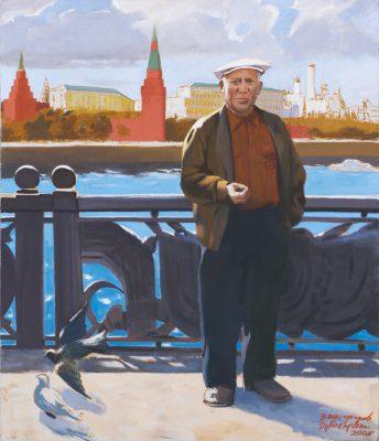Пикассо в Москве. Виноградов Дубосарский. 2001