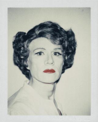Энди Уорхол,  Self-Portrait in Drag,  1986 г.