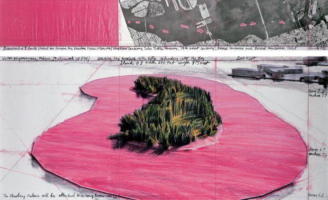 Окруженные острова, рисунок 1982 г.